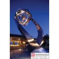 Gorgeous School Stainless Steel Sculpture