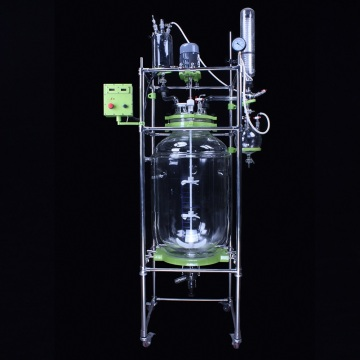 Pressure double jacketed vessel glass reactor design