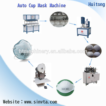 Automatic Ultrasonic Cup N95 Certified Making Machine