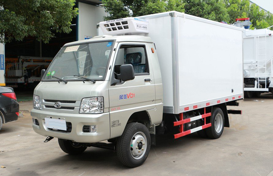 refrigerated small trucks
