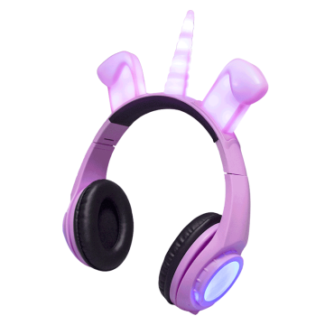 Oem headband kids fashion stereo dog ears headphone