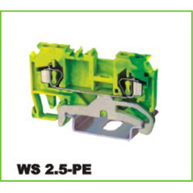 DIN Rail Mounted Spring Cage Terminal Block 2.5mm2