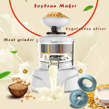 Household Soybean Milk Maker Multifunction Meat Grinder Health Corn Juice Extractor Squeezer Four Mill Vegetable Silcer