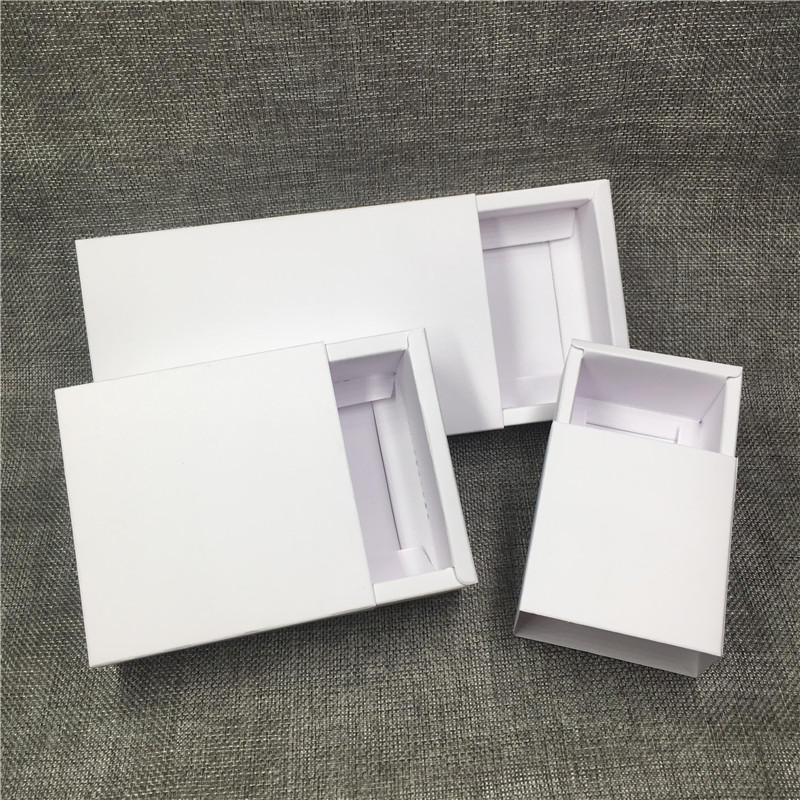 white box packaging clothes box packaging