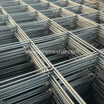 Black Steel Welded Wire Mesh Panel