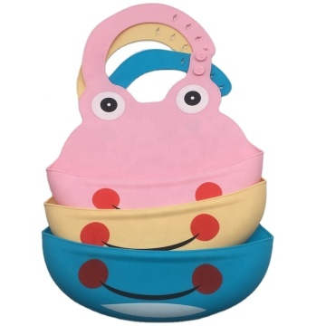 Eco-Friendly Soft Washable Silicone Baby Bibs