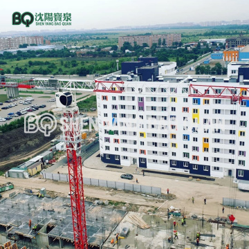 BQ GHP6016-10 Flat Top Tower Crane