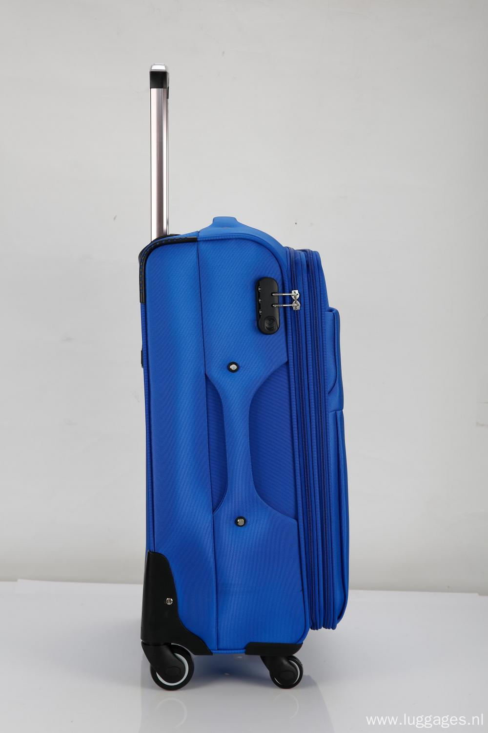 Roller lightweight softside suitcase