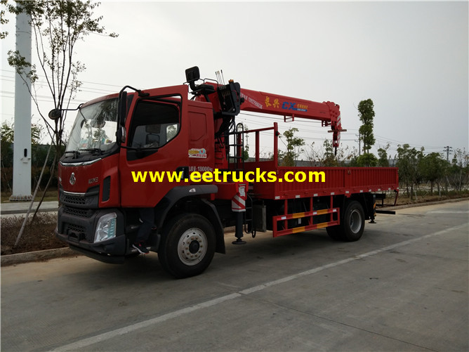 Two Arms SINOTRUK Truck Cranes