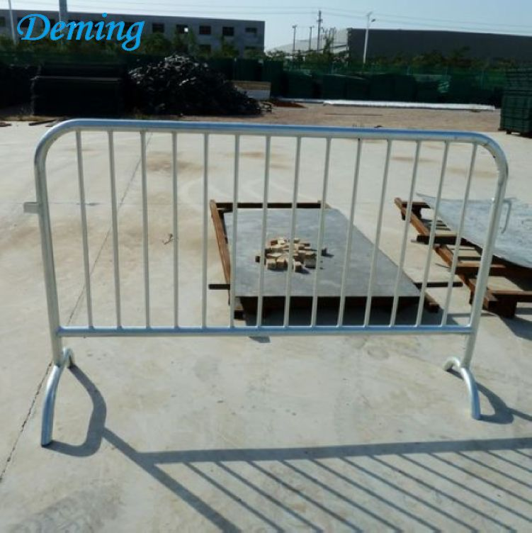 Pedestrian Heavy Duty Galvanized Used Road Barrier