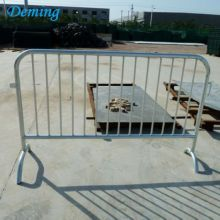 Factory Roadside Galvanized Pedestrian Temporary Barrier