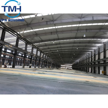 steel structure building warehouse car garage