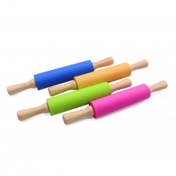 Silicone Rolling Pin - Dough Roller for Pizza
