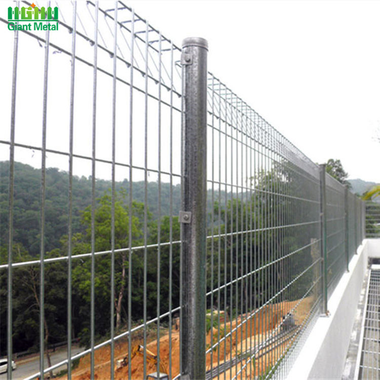Galvanized Welded Roll Top BRC Security Fence