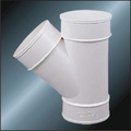 BS5255/4514 Drainage Upvc Y-tee Grey Color