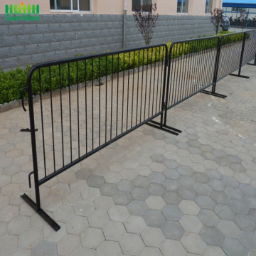 Metal Portable Road Steel Traffic Crowd Control Barrier