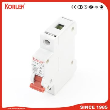 6ka Mini Circuit Breaker with SEMKO KNB1-63 2P