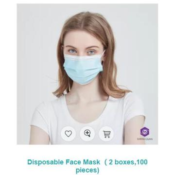 High quality melt-blown fabric anti-dust Protective Mask