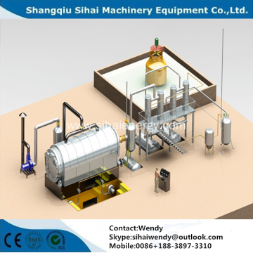 Tyre Oil Extraction Pyrolysis Plant