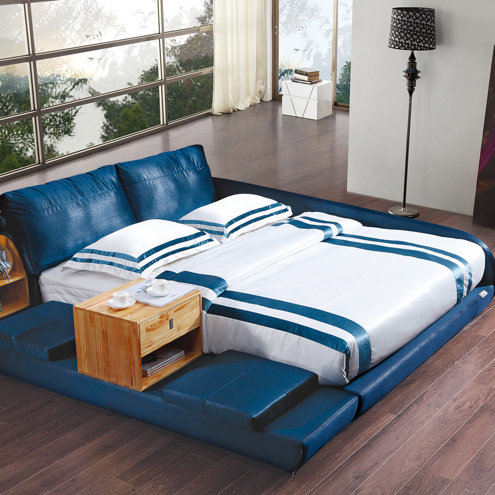 Cushion Inserted Soft Bed