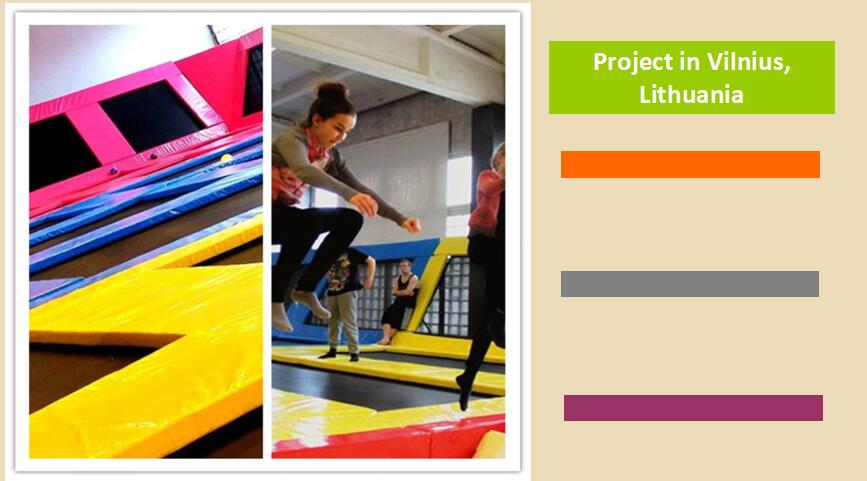 Projects of Trampoline Park Manufacturer
