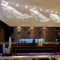 Luxury villas crystal lighting modern lobby chandeliers
