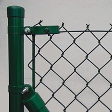Temporary construction fence panels chain link fence