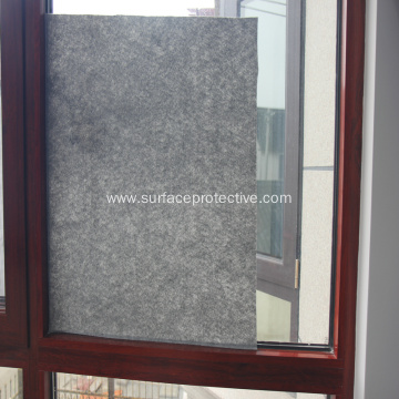 Sticky Window Protection Film During Construction