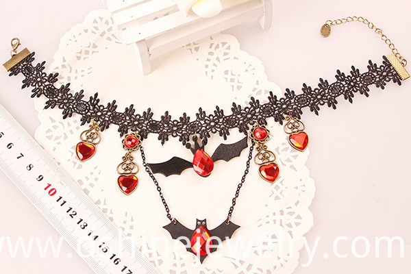 Bat Pendant Necklace