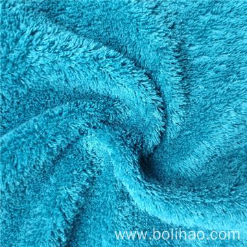 Dyed Coral Fleece Fabric