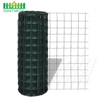 Green Color Pvc Holland Euro Fence For Sale
