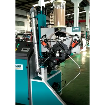 Dryer material filling machine