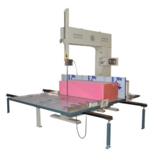 Manual vertical PU foam cutting machine