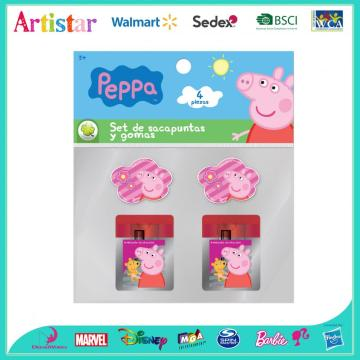 PEPPA PIG opp bag packing stationery set