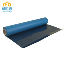 Self Adhesive Wallpaper Modern Biru Paintable untuk Dinding