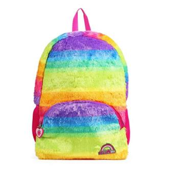 RAINBOW PLUSH BACKPACK -0
