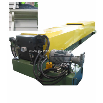 Square downspout forming machine