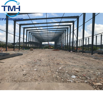 steel frame double construction steel structure warehouse
