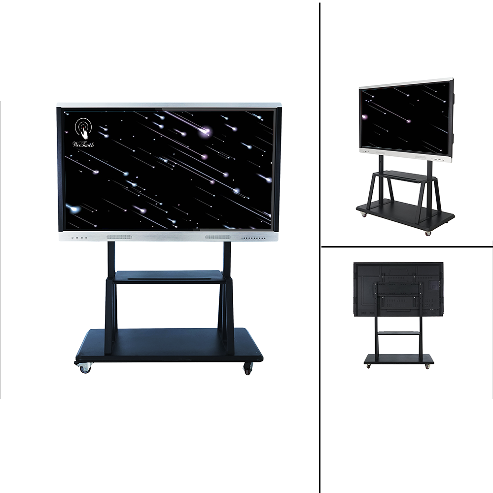 65 inches Classroom smart panel with mobile stand