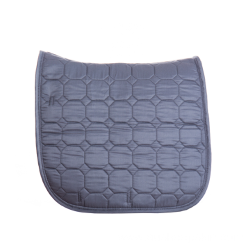 High quality velour quilted saddle pad with cord