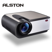 ALSTON H89 Full HD LED Projector 2200 Lumens LED Video Projector Home Cinema WIFI Miracast/Airplay Proyector USB AV SD HDMI VGA