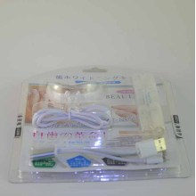 Luxury plastic clamshell packing for electronic product and USB wire