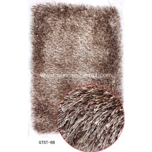 Elastic and Silk mix Shaggy Rug