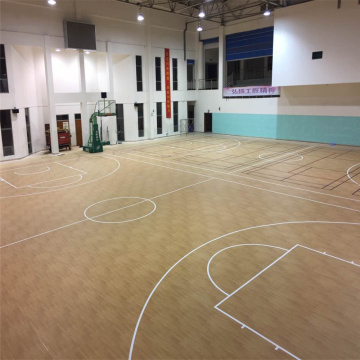 PVC Basketball Indoor Flooring
