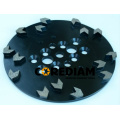 Diamond Grinding Plate with Special Segments