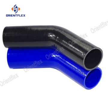 45 degree elbow 4mm silicone hose