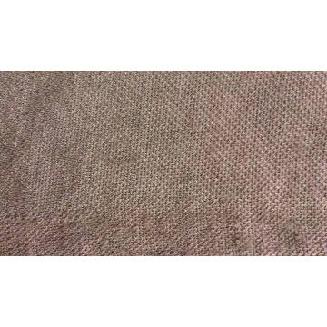Interlock 100% polyester brushed knitted fabric