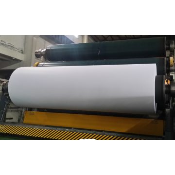 High bulk woodfree offset paper