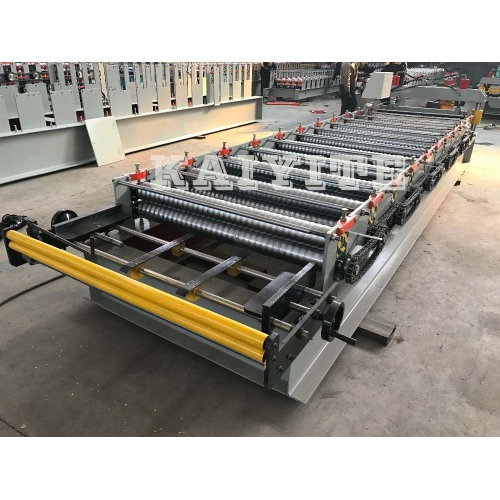Wave Profile Corrugation Roll Forming Machine