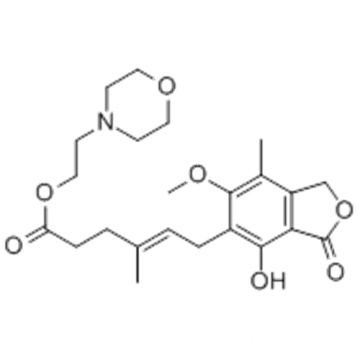 Mycophenolate mofetil CAS 115007-34-6